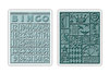 Tim Holtz Alterations Embossing Folder: Bingo & Patchwork Set