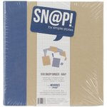 "Simple Stories - Sn@p!: 6x8"" Binder (Album) - Navy / Blau"
