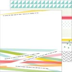Pinkfresh Studio - Life Noted: Pick up Sticks Paper 12x12""