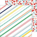 Pinkfresh Studio - Felicity: Pretty Stripes Paper 12x12""