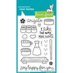 Lawn Fawn - Clear Stamps: Let's Roll
