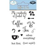 Elizabeth Craft Designs - Clear Stamps: Coffee & Tea