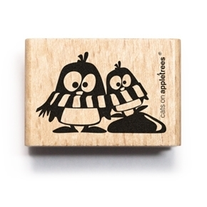 cats on appletrees holzstempel oscar ole scrapabilly. Black Bedroom Furniture Sets. Home Design Ideas