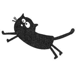 cats on appletrees holzstempel friedegunde springt scrapabilly. Black Bedroom Furniture Sets. Home Design Ideas