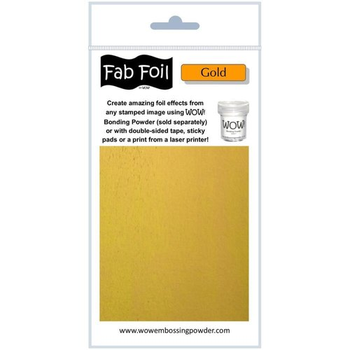 WOW! - Fab Foil: Gold