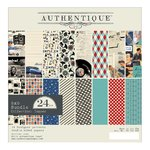 Authentique - Dapper: Paper Pad 6x6""