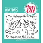 Avery Elle - Clear Stamps: Pegasus Duo