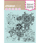 Studio Light - Clear Stamps: Hintergrund Nr.181