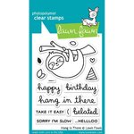 Lawn Fawn - Clear Stamps: Hang in There