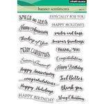 Penny Black - Clear Stamps: Banner Sentiments