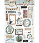 Studio Light - Winter Feelings: Stanzbogen (Die Cuts)
