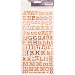 American Crafts - Dear Lizzy: Memo Thickers Foiled Foam (Moosgummi)