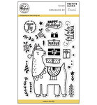 Pinkfresh Studio - Clear Stamps: Festive Llama