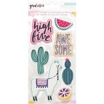Crate Paper - Good Vibes: Embossed Puffy Stickers (7 St.)