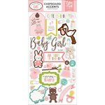 "Echo Park - Sweet Baby Girl: Chipboard Accents 6""x12"""