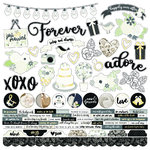 "Simple Stories - Always and Forever: Cardstock Stickers 12""x12"""