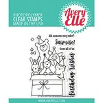 Avery Elle - Clear Stamps: Critter Crew