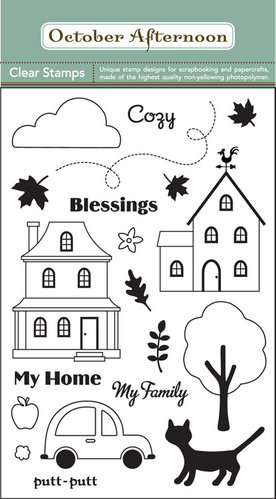 "October Afternoon Clear Stamps ""Weathervane"""