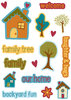 "ki Memories ""Family Time Icons"" Pop Art Sticker Accents"