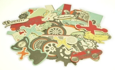 Kaisercraft: On The Move - Collectables Die-Cuts