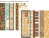 "Simple Stories - Harvest Lane: 2x12"" Border & 4x12"" Title Strip Elements 12""x12"""
