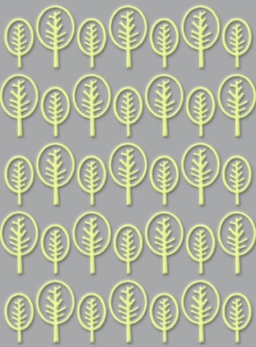 Craft Concepts Universal Embossing Folder: Lollipop Trees
