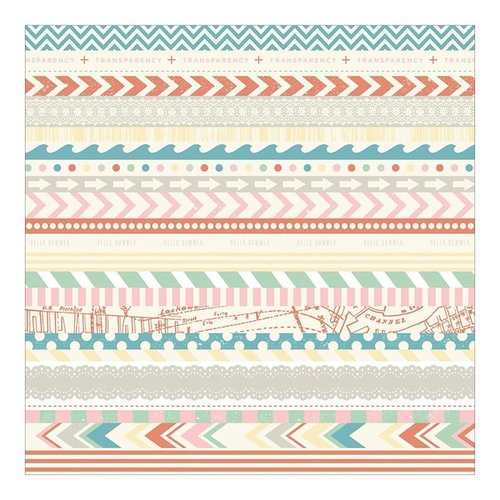 "Crate Paper - The Pier: Washi Paper 12""x12"""