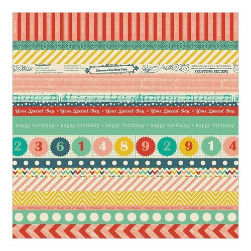 "Crate Paper - Party Day: Washi Paper 12""x12"""