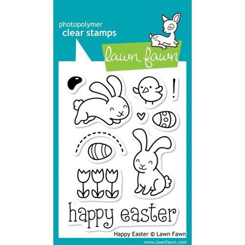 Lawn Fawn - Clear Stamps: Happy Easter