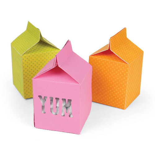 Sizzix - Movers & Shapers L: Box, Milk Carton by Where Women Cook