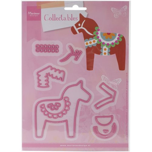 Marianne Design - Collectables: Eline`s Dala Horse