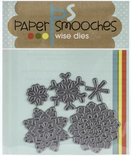 Paper Smooches - Wise Dies: Snowflakes