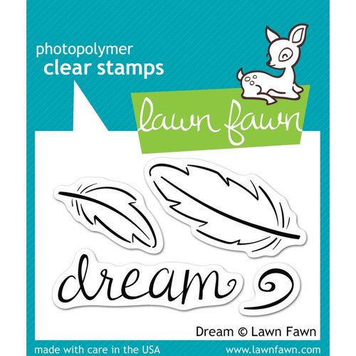 Lawn Fawn - Clear Stamps: Dream