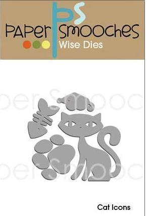 Paper Smooches - Wise Dies: Cat Icons