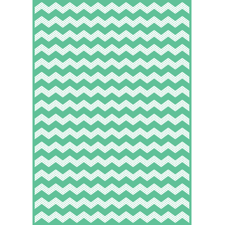 "Craftwell - Universal Embossing Folder: Dotted Chevron (8,5x12"")"