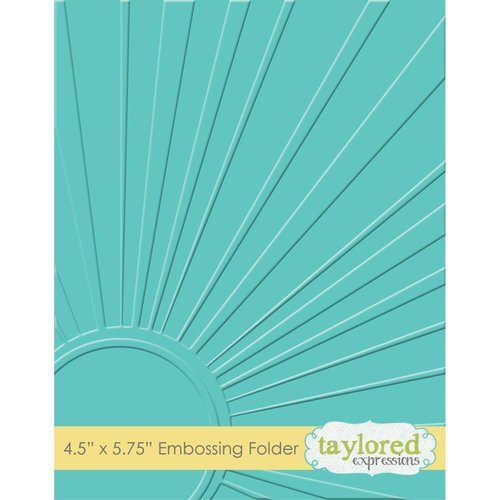 Taylored Expressions - Embossing Folder: Walking on Sunshine