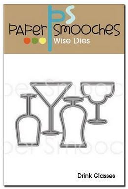 Paper Smooches - Wise Dies: Drink Glasses