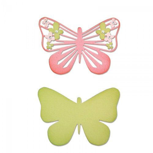 Sizzix - Thinlits: Graceful Butterfly #2 (2 Dies)