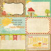 "Simple Stories - 100 Days of Summer: 4x6"" Journaling Card Elements #2"