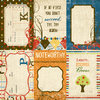 "Simple Stories - Elementary: 4x6"" Vertical Journaling Card Elements"