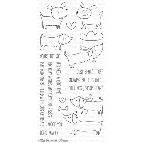 My Favorite Things - Clear Stamps: Top Dog