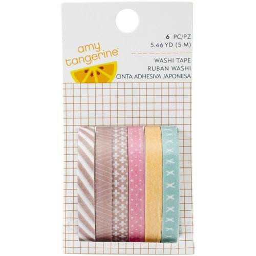 American Crafts - Amy Tan Finders Keepers: Washi Tape (6 x 5m)