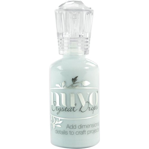 Nuvo - Crystal Drops: Duck Egg Blue