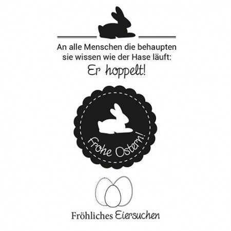 Efco - Clear Stamps: Ostern 2