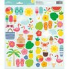 "Pebbles - Sunshiny Days: Accent Stickers 6""x12"""