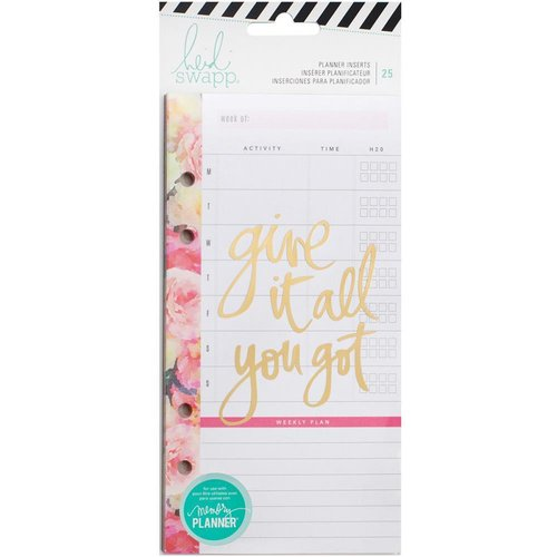 Heidi Swapp - Memory Planner Inserts: Meal & Exercise