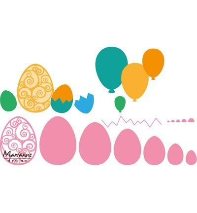 Marianne Design - Collectables: Easter Eggs