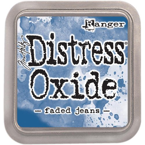 Cracked Pistachio Ranger Tim Holtz Distress Oxide Ink Pads Faded Jeans and Peeled Paint Broken China