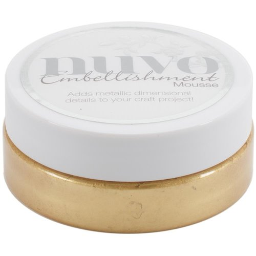 Nuvo - Embellishment Mousse: Indian Gold