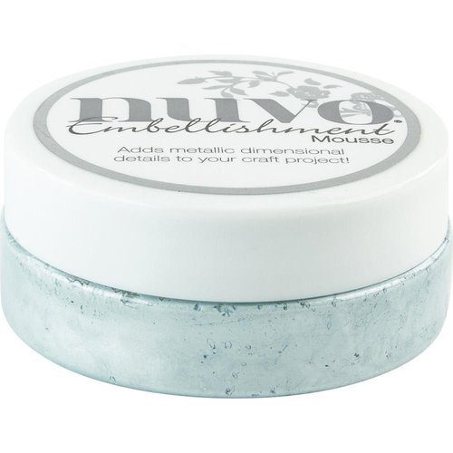 Nuvo - Embellishment Mousse: Powder Blue